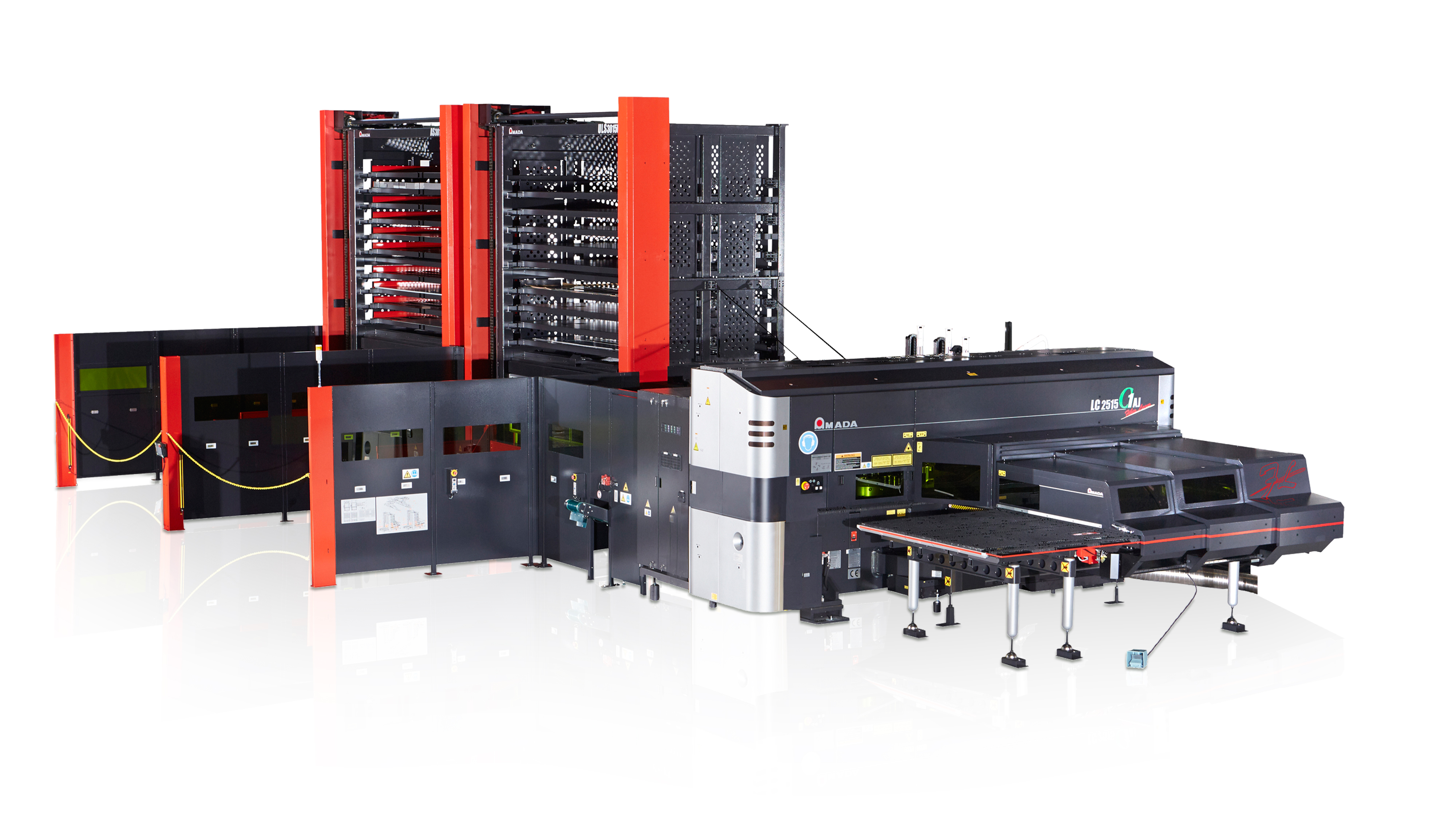 Vollautomatisiertes Stanz-Laser Zentrum